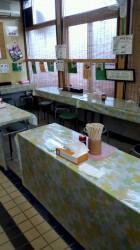丸池製麺所 座席