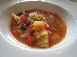 ミネストローネのスープ