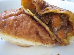 牛肉ゴロゴロカレーパン2