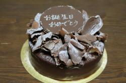AU POIVRE(オウ・ポワブル)でお誕生ケーキ2