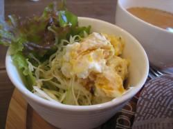 カボチャのサラダ
