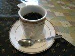 福林 食後のコーヒー