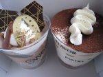 ティラミス&チョコのケーキ