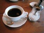 食後はコーヒー